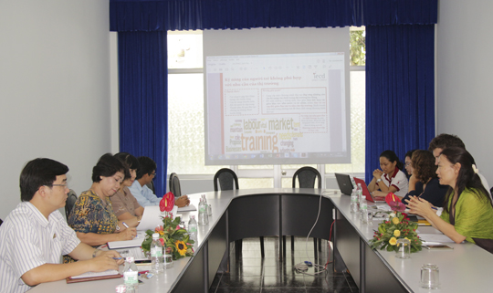 A Vocational Training Course on French Bakery & Pastry at Thu Duc College of Technology