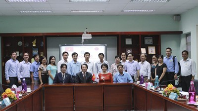 TDC welcomed the delegation from Ikeda Town, Nagano Province – Japan