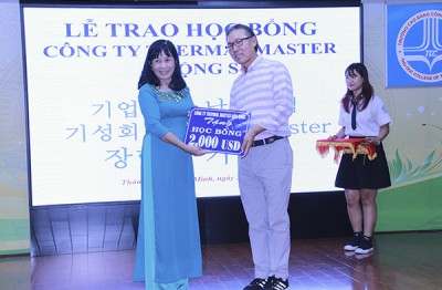 TDC receives scholarship from Thermal Master Company (South Korea)