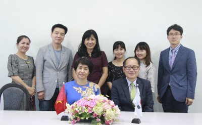 Strengthening the partnership with Yeungnam University College